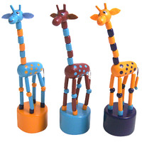 Push Toy Giraffe, Assorted Colors