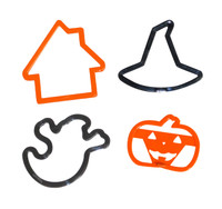 4-Piece Halloween Cookie Cutter Set