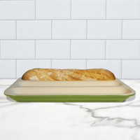Baguette Baker, Glazed - Green