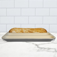 Baguette Baker, Glazed - Grey