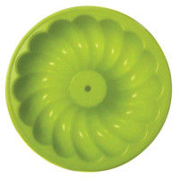 The Little Cook™ Silicone Bundt Pan, Green