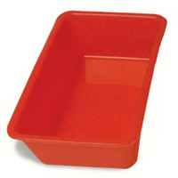The Little Cook™ Silicone Loaf Pan, Red