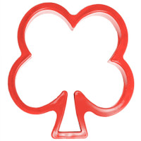 Red Flower Cookie Cutter-- Set of 8