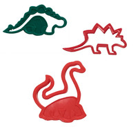 Assorted Dinosaur Cookie Cutters