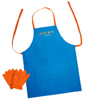Gardener in Training Apron Set