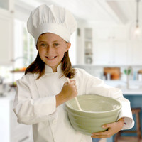 The Little Cook®  Chef's Hat and Jacket