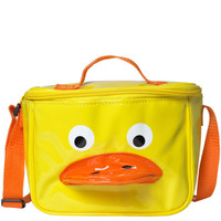 Vinyl Duck Lunch Bag