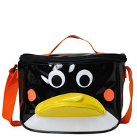 Vinyl Penguin Lunch Bag