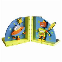 Alien Robot Bookends