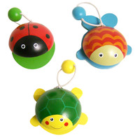 Ladybug, Fish and Turtle Castanets, set of 3