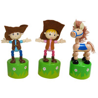 Push Toy Rodeo, Set of 3