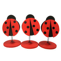 Spring Clip Ladybug