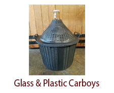 Glass and Plastic Carboys & Demi-Johns