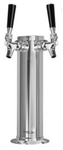 Dual Faucet Column Tower