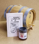 French Oak Barrel Vinegar Kit  w/stand - 5 Liter (Out of Stock)