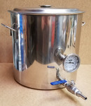 8.5 Gal. S/S Brew Kettle with Options