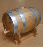 French Oak Barrel w/Stand - 5 Liter (Out of Stock)