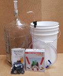 Basic Equipment Kit w/Glass Carboy