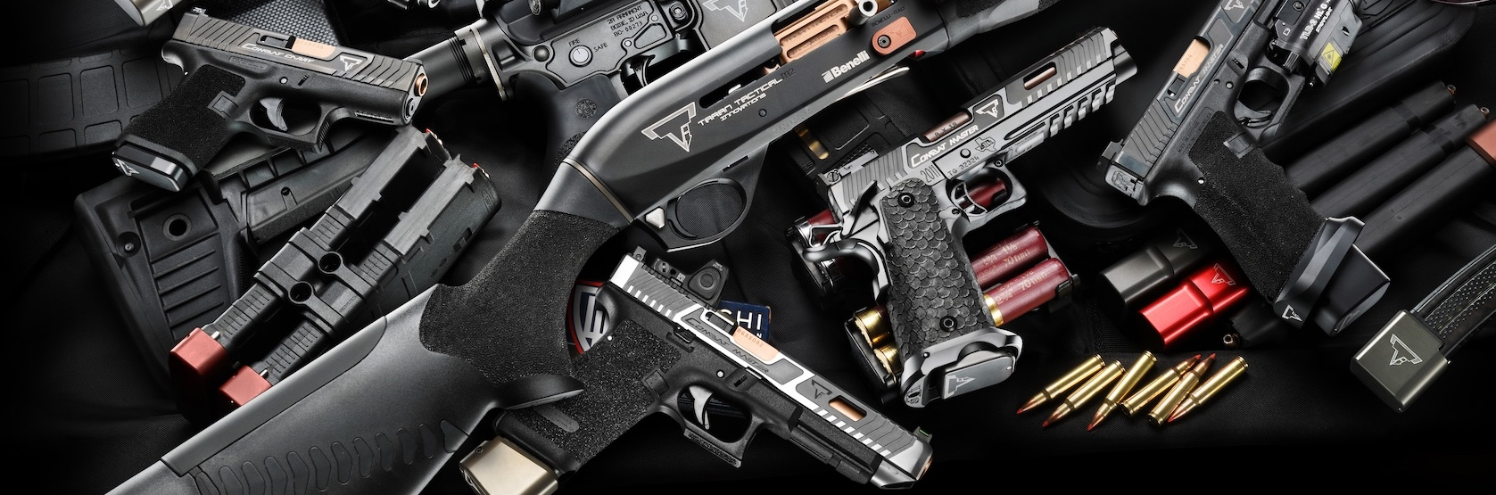 Taran Tactical Innovations Glock Pistol Parts Diagram Color Coded Showing Frame Pins Springs
