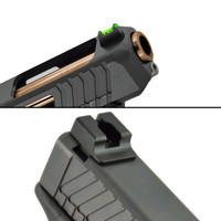 TTI  Ultimate Fiber Optic Sights Set for Glock