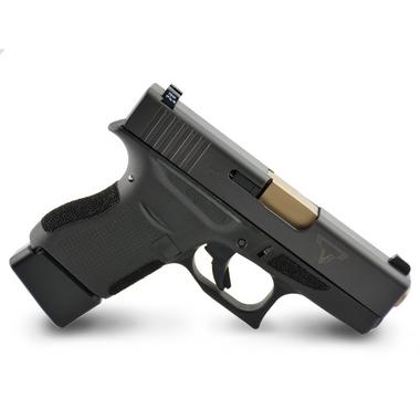 Glock 43 Carry Stipple, Left Hand, Single Undercut