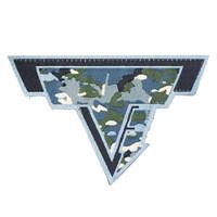 TTI Woven Logo Patch-Camo