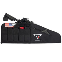"TTI 38"" Rifle Bag W/ 6 Mag Pouches"