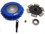 SPEC Clutch For Mazda 323 1988-1989 1.6L exc GTX Stage 4 Clutch (SZ434-2)