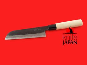 "Unshu Yukimitsu Hamono | Kurouchi Kamagata Nakiri | 160mm・6¼"" | Knife Japan"
