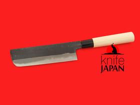 "Unshu Yukimitsu Hamono | Nakiri | 170mm・6.7"" | Knife Japan"
