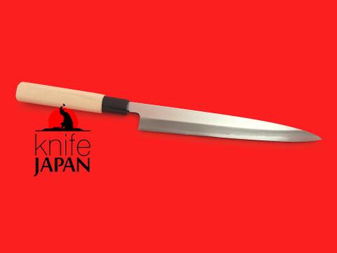 "Unshu Yukimitsu Hamono Yanagiba | 215mm・8½"" | Knife Japan"