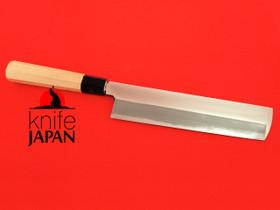 Unshu Yukimitsu Hamono Usuba 215mm Octagonal Hiba