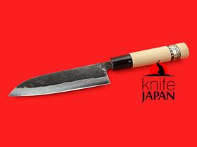 "Minomo Hamono | Black-forged bannou | 140mm・5½"" | Knife Japan"