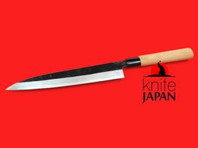 "Nakamura Hamono | Nojiyama Marunaka yanagiba | 240mm・9½"" | Knife Japan"