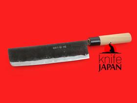 "Nakamura Hamono | Nojiyama Marunaka nakiri-bocho | 240mm・9½"" | Stainless tang | Knife Japan"