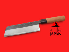 "Nojiyama Marunaka left-handed Usuba-bocho | 180mm・7"" | Knife Japan"