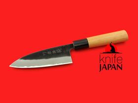 "Kawatsu Hamono Funayuki-bocho | Stainless-clad aogami #2  | 120mm・4¾"" | Knife Japan"
