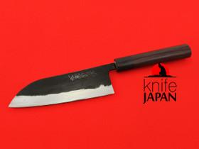 Tanaka Hamono Bunka-bocho 165mm Tasō-kō Multi-layer Shirogami #1 Sandalwood