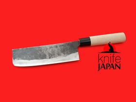 "Nakamura Hamono | Nojiyama Marunaka nakiri-bocho | 170mm・6.7"" | Stainless tang | Knife Japan"