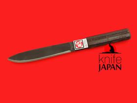 "Fukamizu Hamono Gibier Knife | 120mm・4¾"" | Gingami #3 Stainless | Knife Japan"