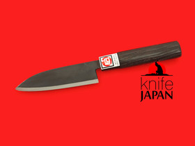 Fukamizu Hamono | Steak Knife | Gingami#3 Stainless | 110mm・4.3"