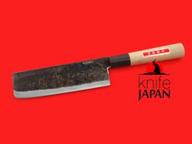 "Shiro Kunimitsu | Special Hard-forged Usuba | 165mm ・ 6½"" | Knife Japan"