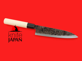 Shiro Kunimitsu | Black-forged yanagiba-bocho | 170mm ・ 6.7"