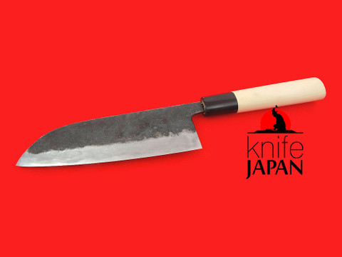 Okubo Kajiya | Black-forged santoku-bocho | 170mm・6.7"