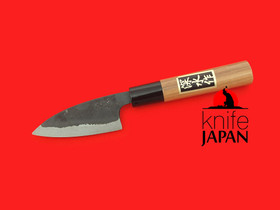 Fukamizu Hamono | Ko-bocho | Shirogami#2 with durable cherry handle | 85mm・3.3"