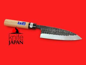 "Iwami Okamitsu Hamono Uchime-shiyage Deba | 150mm ・ 9¾"" | Knife Japan"