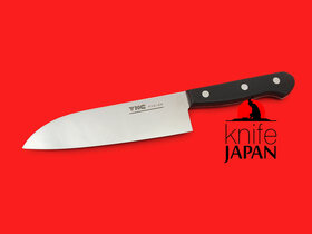 Moriya Munemitsu Stainless Santoku  | 160mm ・ 6.3"