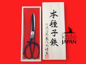 Ikenami Hamono gift-boxed Tanebasami scissors | 7.5 sun ・23cm | Knife Japan
