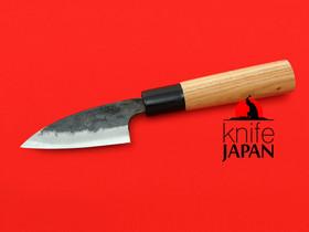 "Iwami Okamitsu Hamono Shouga-bocho | Keyaki handle | 85mm ・ 3.4"" | Knife Japan"