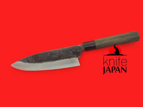 "Fukamizu Hamono Outdoor Knife | Aogami #2 | 195mm・7 ⅔"" | Knife Japan"